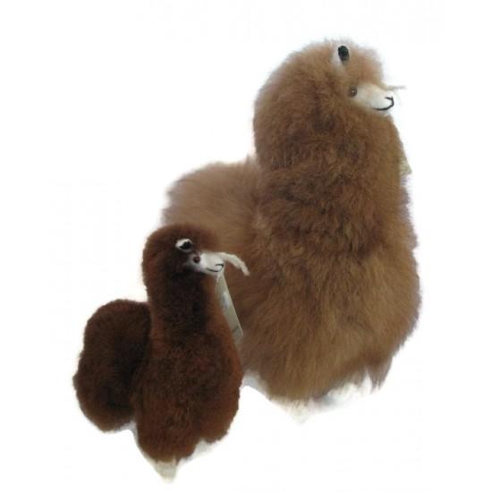 Alpaga en fourrure