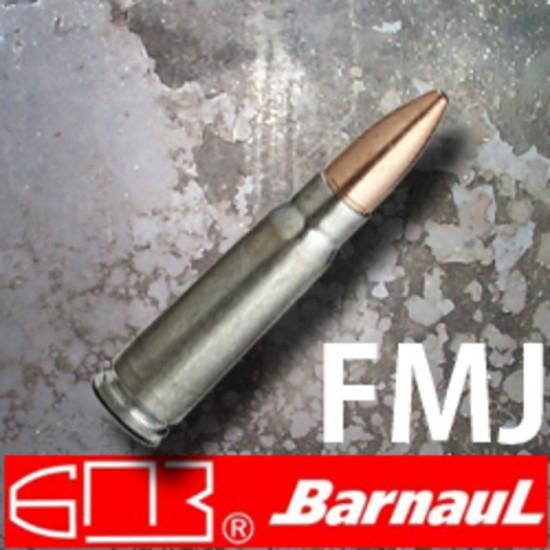Barnaul / 7.62x39R / 123gr / FMJ / Non corrosive...