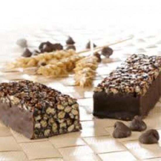Barre céréales croustillantes au chocolat