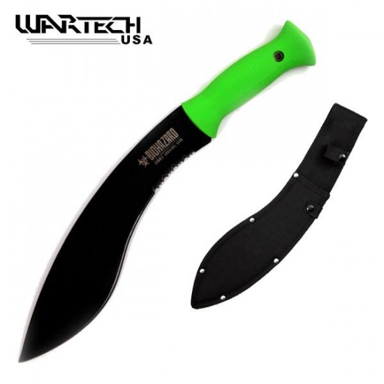 15.5 Inch Overall Kukri Undead Survival Gear