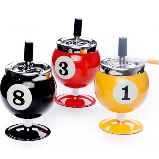 Ashtray Metal Billiards